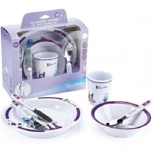 Set repas petit monstre thermobaby