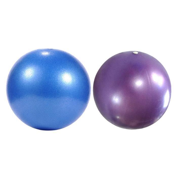 2 pcs Yoga Pilates Petit Ballon D'exercice Exercices Core Renforcement TAPIS DE SOL - TAPIS DE GYM - TAPIS DE YOGA