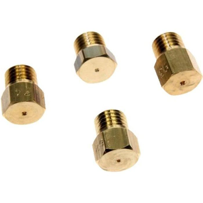 Kit d'injecteurs butane / propane - Four, cuisinière - BRANDT, FAGOR, SAUTER, VEDETTE (9479)