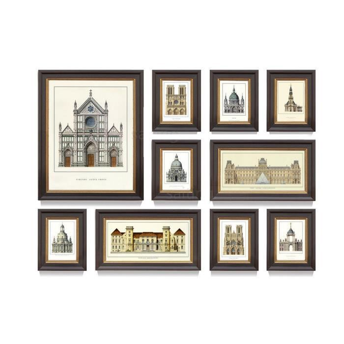multi cadre photo mural rd10 abm home dition sp ciale b2003 achat vente cadre photo. Black Bedroom Furniture Sets. Home Design Ideas