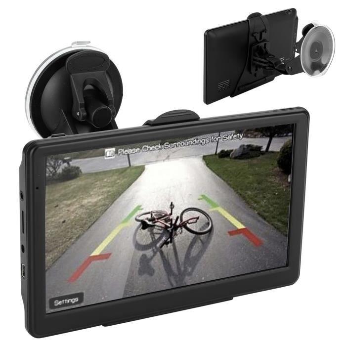 GPS AUTO ♥Eiffel 7 pouces à écran tactile de transmetteur F