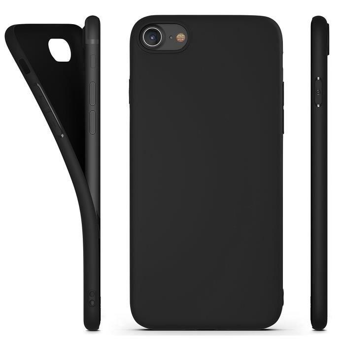 coque iphone 7 noir mat