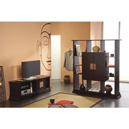 ensemble banc meuble tv et s paration corfou 2 achat vente meuble tv ensemble banc meuble tv. Black Bedroom Furniture Sets. Home Design Ideas