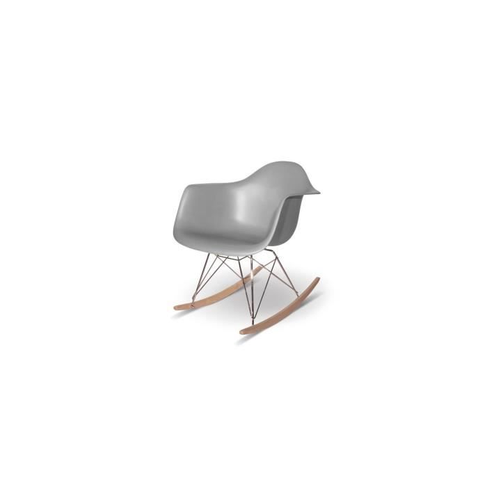 Chaise design bascule inspir e rockingchair e achat - Chaise design bascule ...