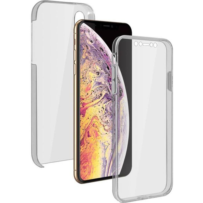 Coque iPhone XS Max Protection 360° Silicone Pol