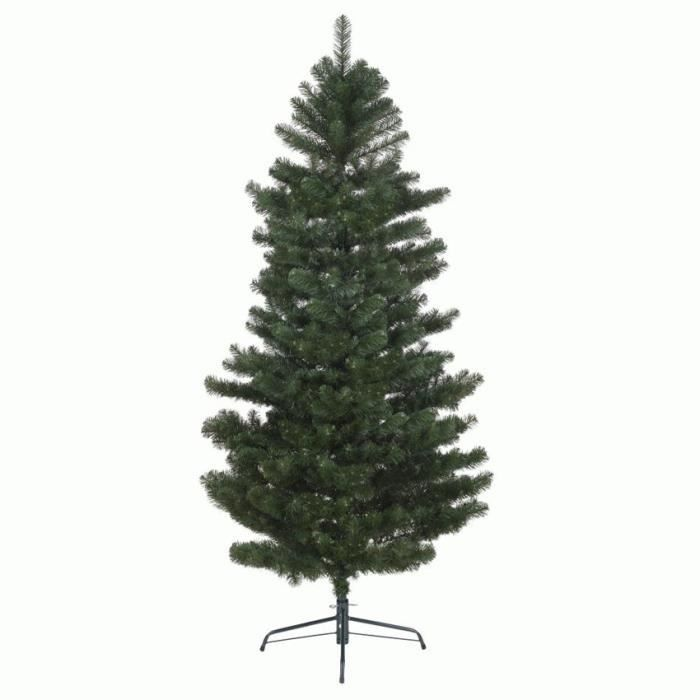 Sapin artificiel de no l ext rieur h180 cm vert sapin for Arbre artificiel exterieur