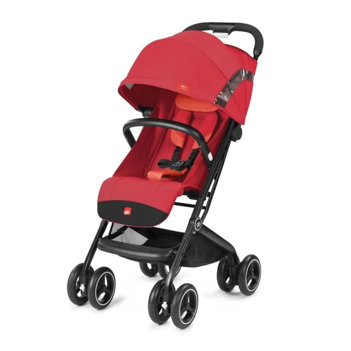 POUSSETTE  GB Poussette Gold Qbit+ All Terrain Rose - Rouge