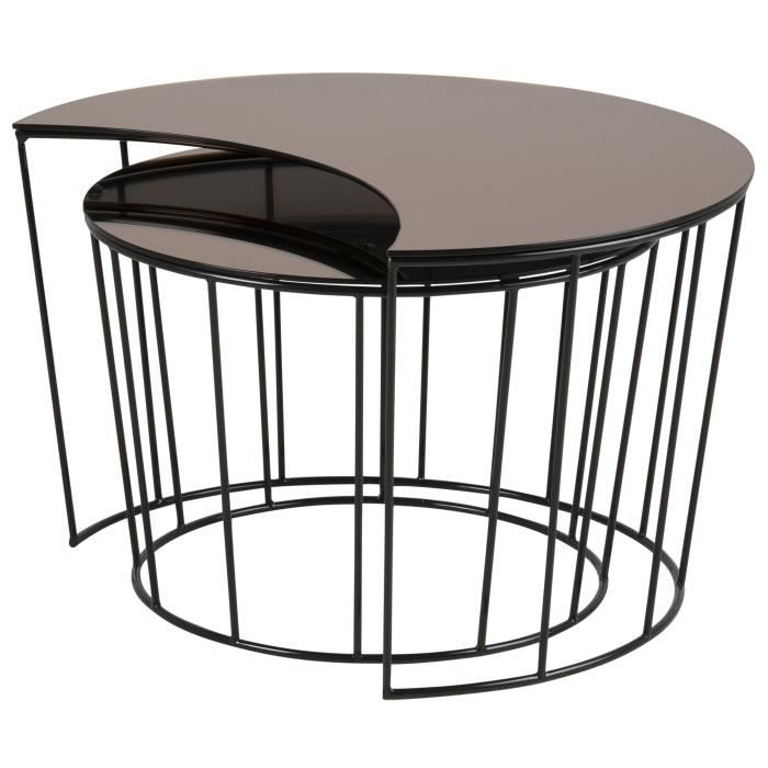 table basse metal industriel achat vente table basse. Black Bedroom Furniture Sets. Home Design Ideas