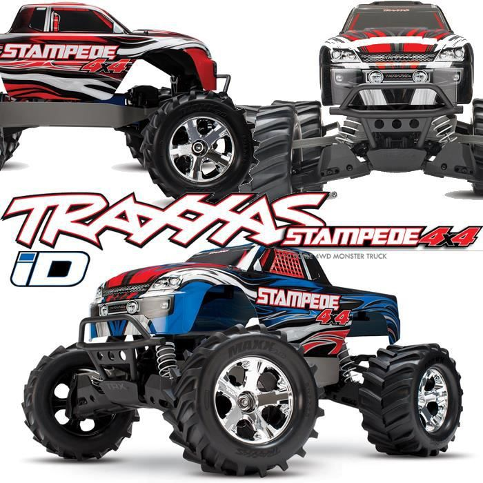 monster truck radiocommand stampede 4x4 1 10 brushed tq. Black Bedroom Furniture Sets. Home Design Ideas