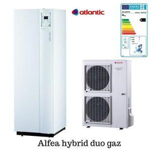 POMPE À CHALEUR Hybrid duo gaz tri 11 400V Alfea Atlantic 11 Kw po