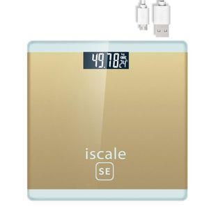 BALANCE ÉLECTRONIQUE Loskii balance de personne électronique LCD USB Re