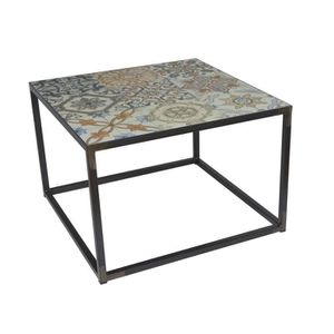 TABLE BASSE Table basse Ibiza Spinder Design 60 x 60 x 40 - Ac