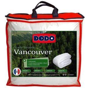 COUETTE DODO Couette tempérée Vancouver - 200 x 200 cm - B