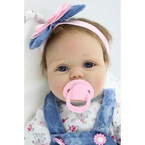 POUPÉE LOLI®55cm bébé Reborn poupée Silicone Real Doll Ki