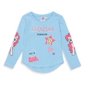 T-SHIRT MON PETIT PONEY T-shirt Licorne Bleu Enfant Fille