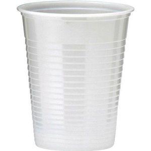 VERRE JETABLE 400 GOBELETS PLASTIQUE 20CL - BLANC  Blanc