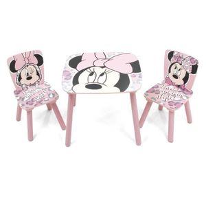 Table Et Chaise Minnie Achat Vente Pas Cher