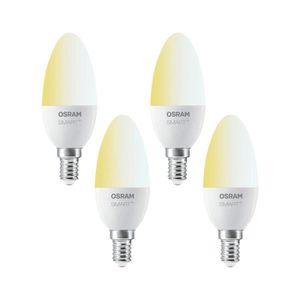 AMPOULE - LED OSRAM Smart+ Lot de 4 Ampoules LED Connectées   Cu