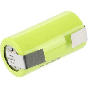 COSSES Pile rechargeable spéciale LR14 (C) cosses à soude