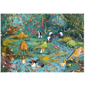 PUZZLE Puzzle d'art en bois 100 pièces Michèle Wilson - R