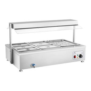 MACHINE A BAIN-MARIE Royal Catering - Bain-marie - RCBM-6WA - 6 bac GN