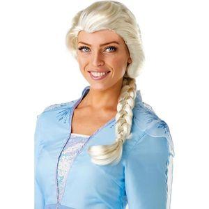 CHAPEAU - PERRUQUE Perruque Elsa La Reine Des Neiges 2™ Frozen 2™ Mul
