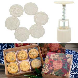 MOULE  TEMPSA Kit de Moule de Gâteau de Lune en Plastique