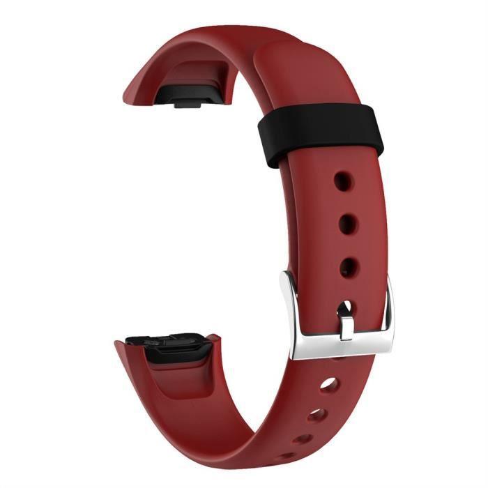 bracelet de montre vendu seul Bracelet de montre intelligent de rechange en silicone souple de sport pour ajustement Samsung Galaxy