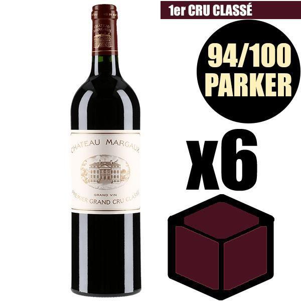 X6 Château Margaux 2008 75 cl AOC Margaux Rouge 1er Cru Classé Vin Rouge