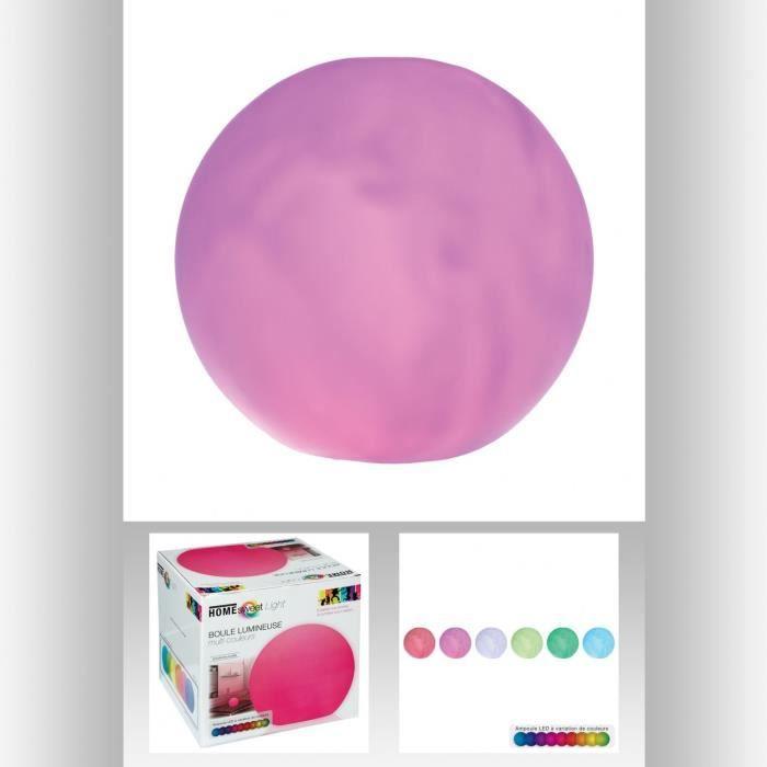 BOULE LED DIAM. 25 CM Multicolore / Multicolore