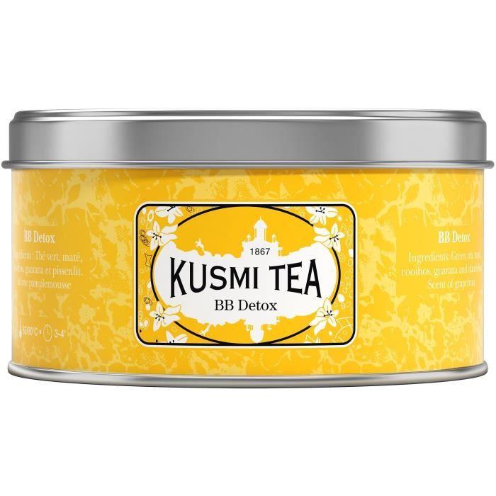 KUSMI TEA Thé BB Detox - Boîte métal - 125 g