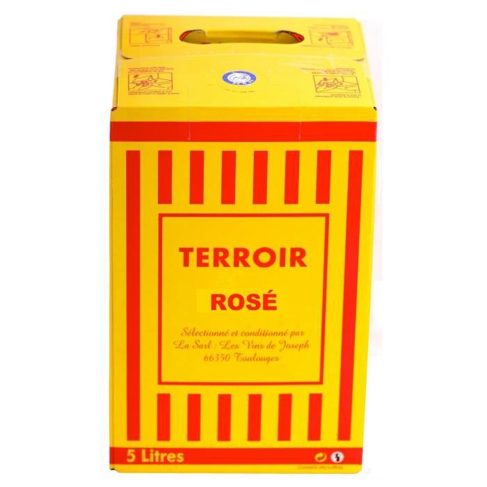 Terroir Catalan Rosé -IGP-AOC- 5 Litres