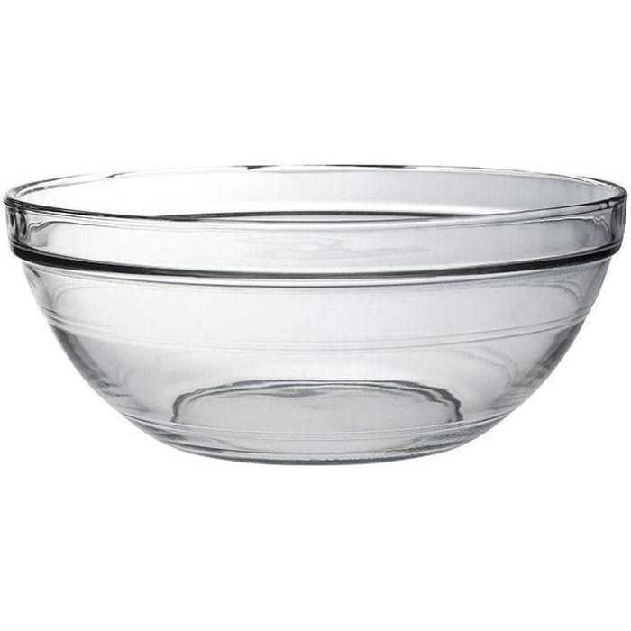 Saladier Lys D : 31cm - transparent