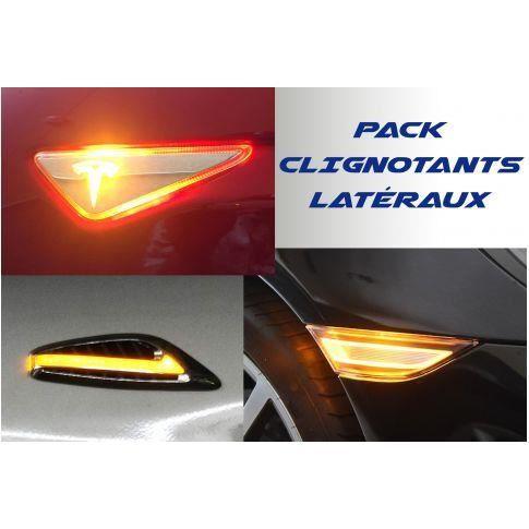 Pack Répétiteurs latéraux LED pour Jaguar S-TYPE
