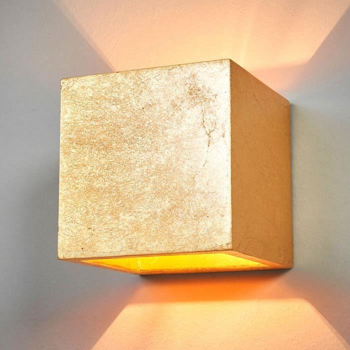 Lampenwelt applique up et down à intensité variable pour salon et salle à manger Yade