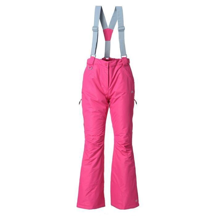 TRESPASS Pantalon de ski Lohan - Femme - Rose