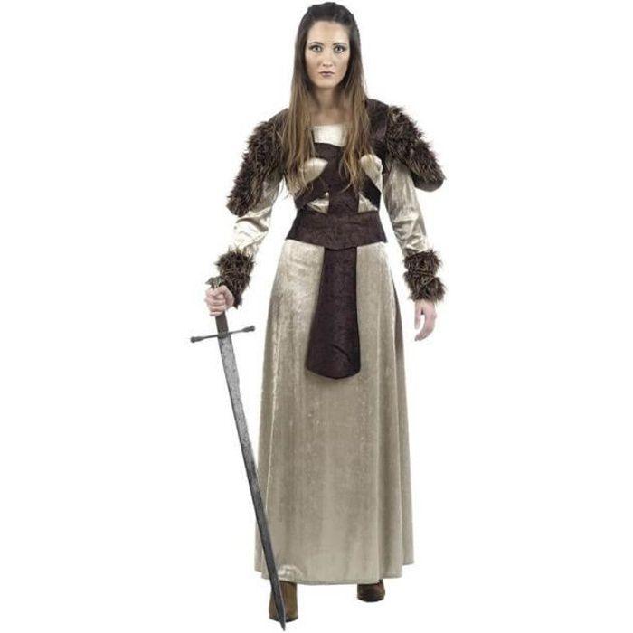 Déguisement de Guerrière Médiévale Freya pour femme
