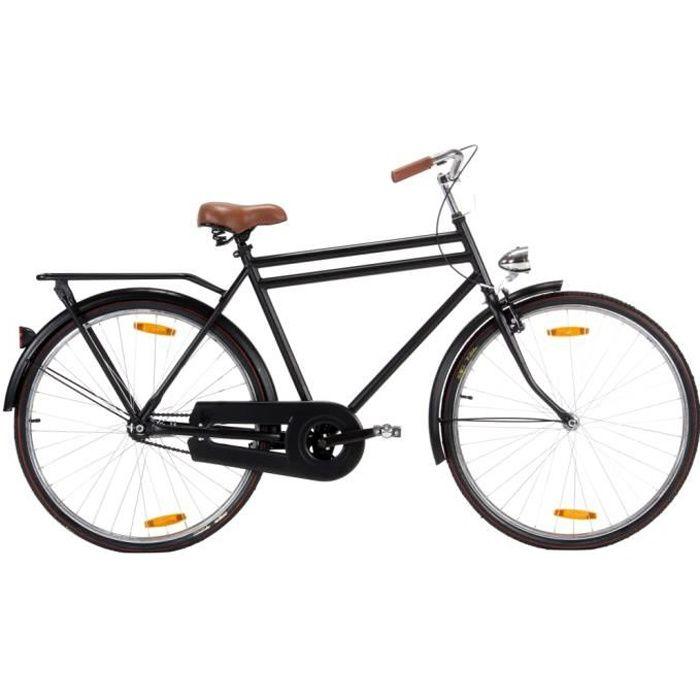 Vélo hollandais à roue de 28 pouces 57 cm pour hommes