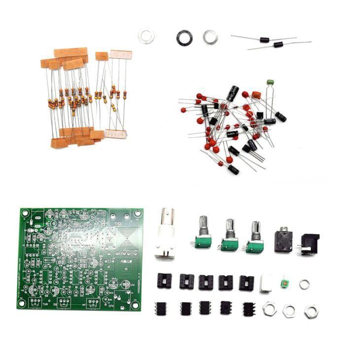 1 récepteur radio bande aérienne Pc de aviation 118-136 MHz AM avec rejet d'image de stabilité sensibilité AUTORADIO