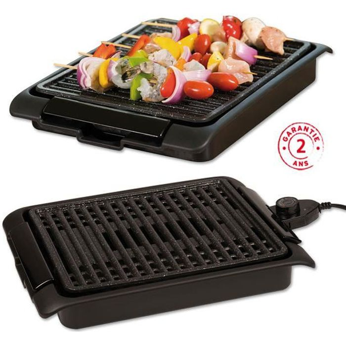 Starlyf® Smokefree Grill Cuisson Sans Fumée Grillades Electrique