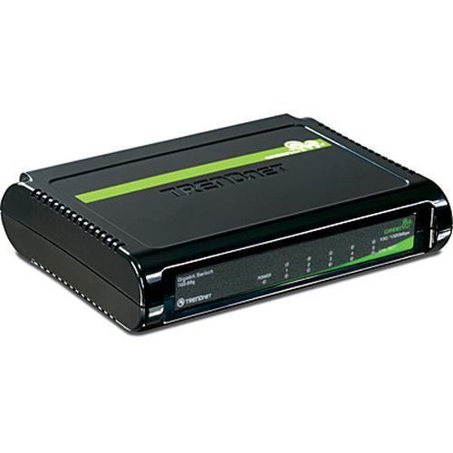Trendnet 5-Port Gigabit GREENnet Switch, Commutateur de réseau non géré, Full duplex