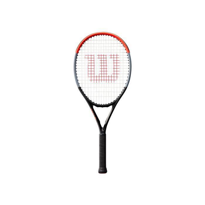 WILSON Raquette de Tennis Clash 26 - Enfant - Noir