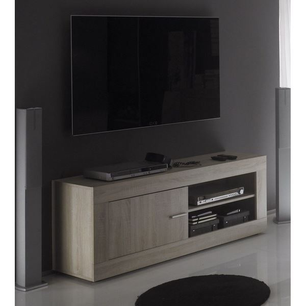 meuble t l 39 tica 39 140cm achat vente meuble tv meuble. Black Bedroom Furniture Sets. Home Design Ideas