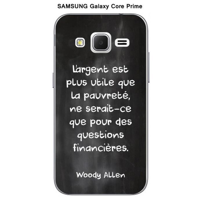Coque Samsung Galaxy Core Prime Citation tableau-8