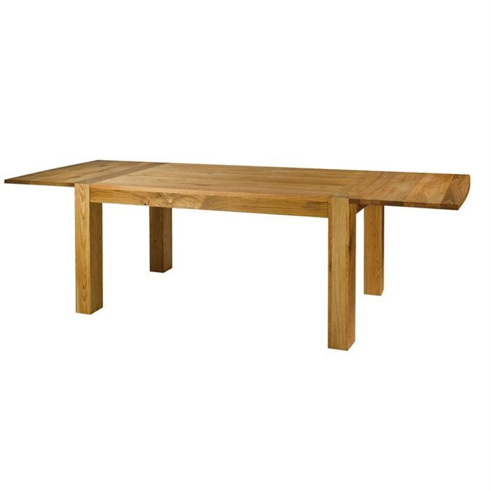 Table ch ne acadie 160 cm avec allonges achat vente for Table a manger 160 cm avec rallonge