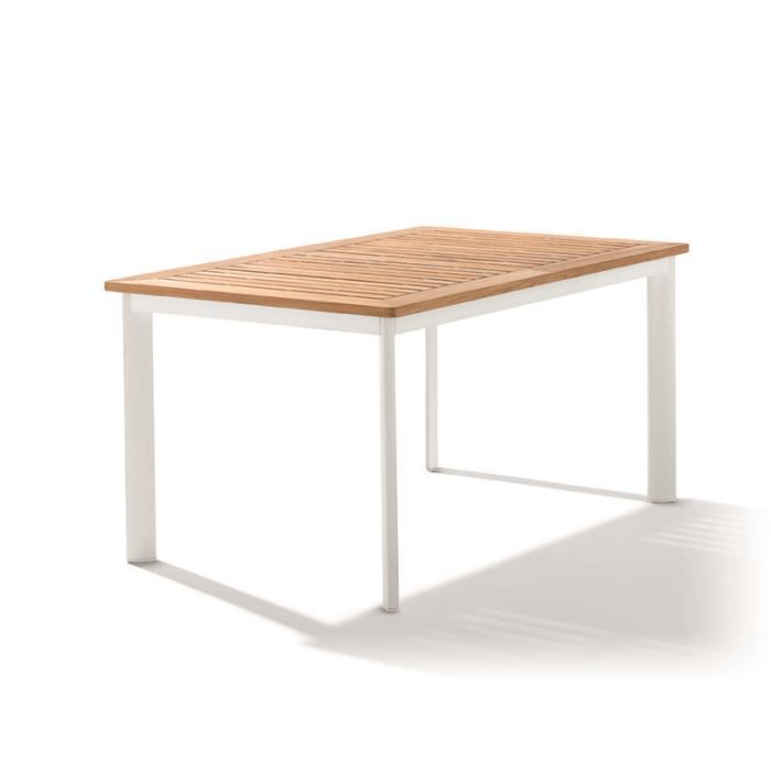 Table rallonge avec plateau teck achat vente table for Tables a rallonges integrees