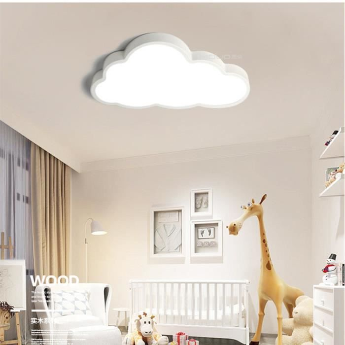 plafonnier led chambre enfant 48w nuage lampe de p