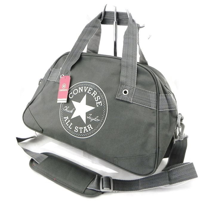 sac de sport converse charbon gris gris achat vente sac de sport sac de sport converse. Black Bedroom Furniture Sets. Home Design Ideas