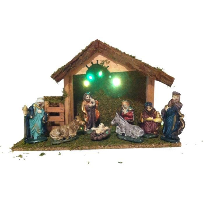 decoration creche de noel - achat / vente decoration creche de