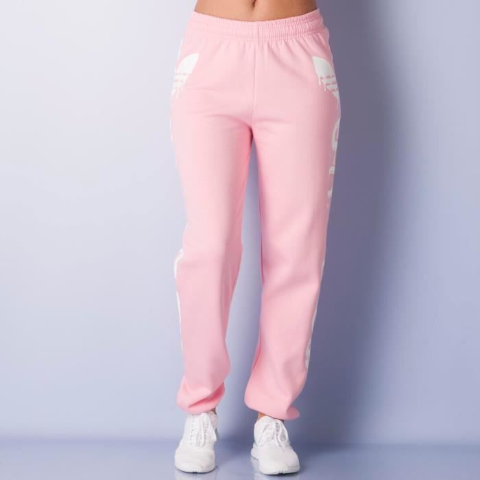 pantalon de training jeremy scott logo pour femme rose rose achat vente pantalon cdiscount. Black Bedroom Furniture Sets. Home Design Ideas